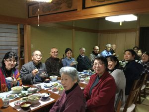 常任運営委員会は、まず礼拝でみことばに聴き、温かい食事をいただき…