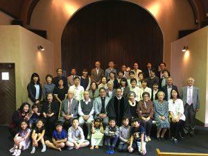 福岡城東橋教会創立128周年記念礼拝