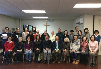 2月 ニューヨーク日米合同教会にて第一回ミニアシュラムが遂に開かれました!