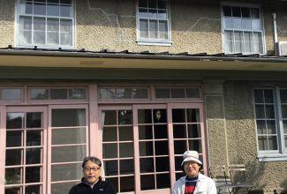 千葉から和子母の甥が御来訪。何十年ぶりかの再会に感激.ホームページご覧下さっているとのこと。